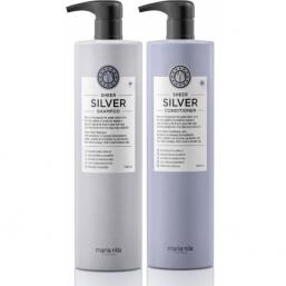 Maria Nila Sheer Silver Duo XXL - Hairsale.se