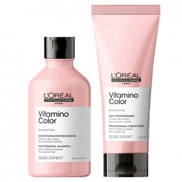Loreal Vitamino Color Shampoo + Conditioner DUO - Hairsale.se