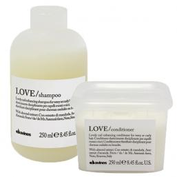 Davines Essential Love Curl Shampoo+Conditioner DUO - Hairsale.se