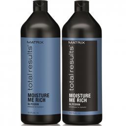 Matrix Total Results Moisture Me Rich, 1000ml DUO - Hairsale.se