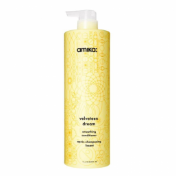 Amika Velveteen Dream Smoothing Conditioner 1000ml - Hairsale.se