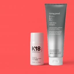 K18 Leave in Mask 50ml + Triple detox schampo - Hairsale.se