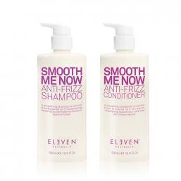 Eleven Australia Smooth Me Now Anti-Frizz Shampoo+Conditioner DUO, 500ml - Hairsale.se