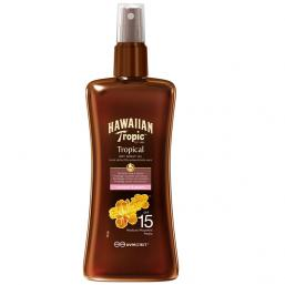 Hawaiian Tropic Dry Spray Oil SPF 15, 200ml - Hairsale.se