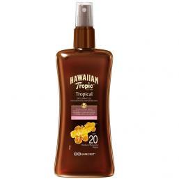 Hawaiian Tropic Dry Spray Oil SPF 20, 200ml - Hairsale.se