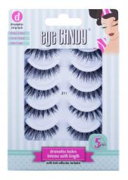 Eye Candy Strip Lash 211 Dramatise Multipack - Hairsale.se