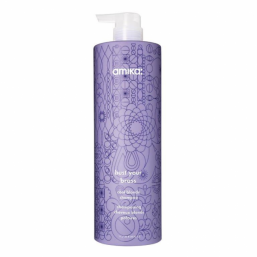 Amika Bust Your Brass Cool Blonde Shampoo 1000ml - Hairsale.se