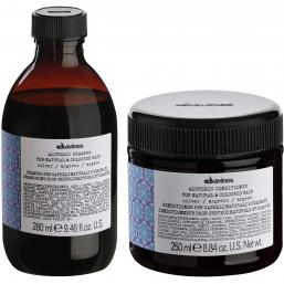 Davines Alchemic Silver Shampoo + Conditioner - Hairsale.se
