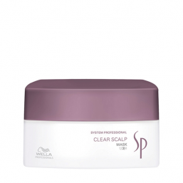 Wella Sp Clear Scalp Mask 200ml - Hairsale.se