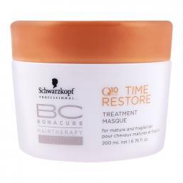 Schwarzkopf Bonacure Q10 Time Restore Treatment Masque 200ml - Hairsale.se