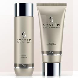 SYSTEM Repair Shampoo + Conditioner DUO - Hairsale.se