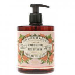 Panier des Sens Marseille Flytande Tvål 500ml Rose Geranium - Hairsale.se