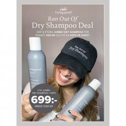 Living Proof Dry Shampoo Jumbo Torrschampo, DUO - Hairsale.se