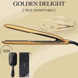 HH Simonsen True Divinity MK2 Plattång - Golden Delight - Hairsale.se