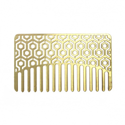 Go Comb Brass Hexagon - Hairsale.se