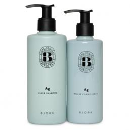 Björk Silver Ag Shampoo & Balsam DUO - Hairsale.se