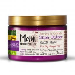 Maui Moisture Shea Butter Mask 340 g - Hairsale.se