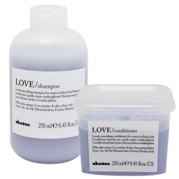 Davines Essential LOVE Smoothing Shampoo + Conditioner DUO - Hairsale.se