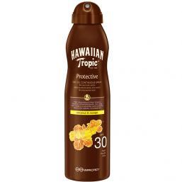 Hawaiian Tropic Dry Oil Coconut & Mango C-Spray, SPF 30, 180ml - Hairsale.se