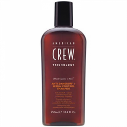 American Crew Anti-Dandruff+Sebum Control shampoo 250ml - Hairsale.se