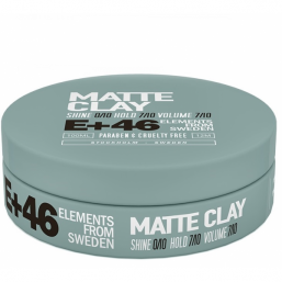 E+46 MATTE CLAY 100ml - Hairsale.se