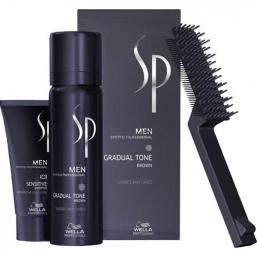 Wella SP Men Gradual Tone (Brun) - Hairsale.se