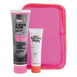 Fudge Neon Pack Colour Lock Shampoo + Blow Dry Putty - Hairsale.se
