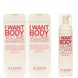 Eleven Australia I Want Body Volume TRIO DEAL - Hairsale.se