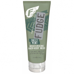 Fudge Daily Mint Moisturising Hair + Body Wash - Hairsale.se
