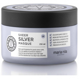 Maria Nila Sheer Silver Masque 250ml - Hairsale.se