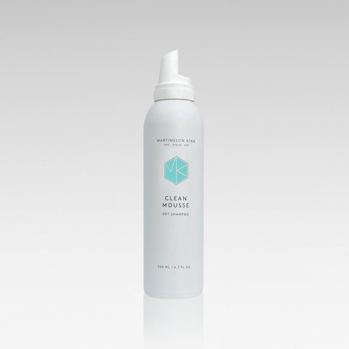 Martinsson King Clean Mousse DRY Shampoo, 200ml - Hairsale.se
