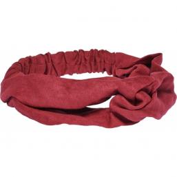 Pieces By Bonbon Johanna Headband Red - Hairsale.se