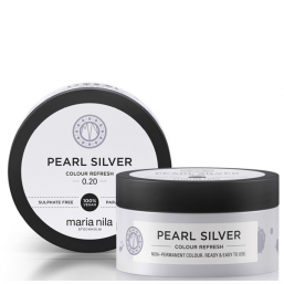 Maria Nila Colour Refresh Pearl Silver 100ml - Hairsale.se