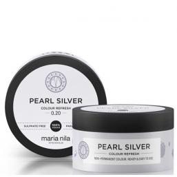 Maria Nila Colour Refresh Pearl Silver 100ml - Hairsale.se