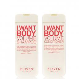 Eleven Australia I Want Body Volume Shampoo + Conditioner DUO - Hairsale.se
