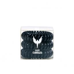 HH Simonsen Hair Cuddles Svart 3-pack - Hairsale.se