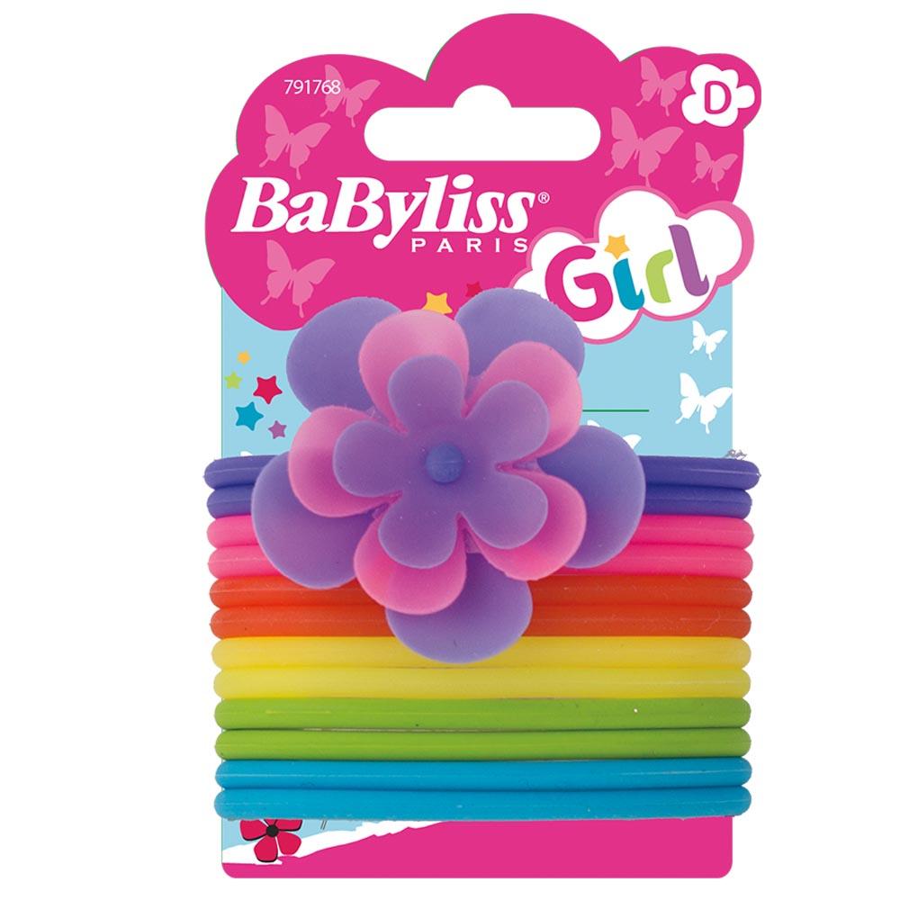 BaByliss Gummisnoddar Blomma till barn, 12 st