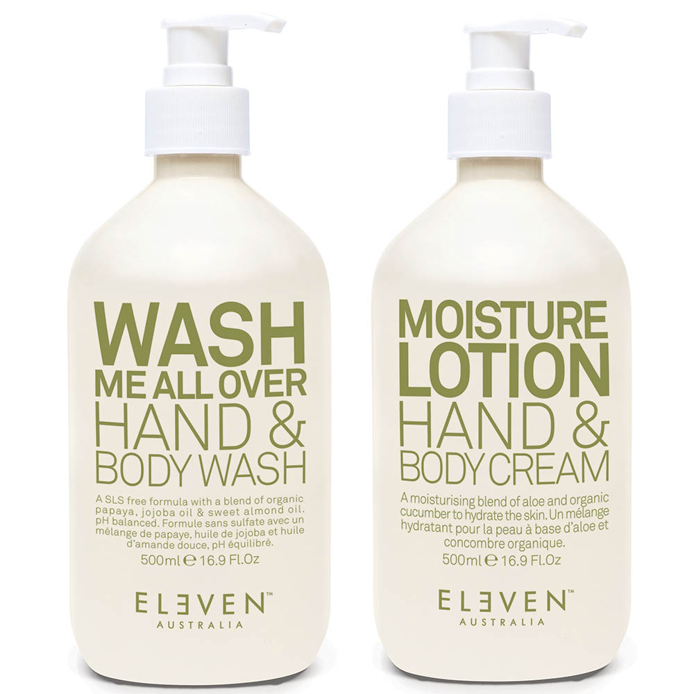 Eleven Australia Hand and Body - Wash and Lotion DUO