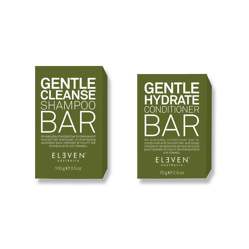 Eleven Australia Gentle Shampoo Bar + Conditioner Bar DUO