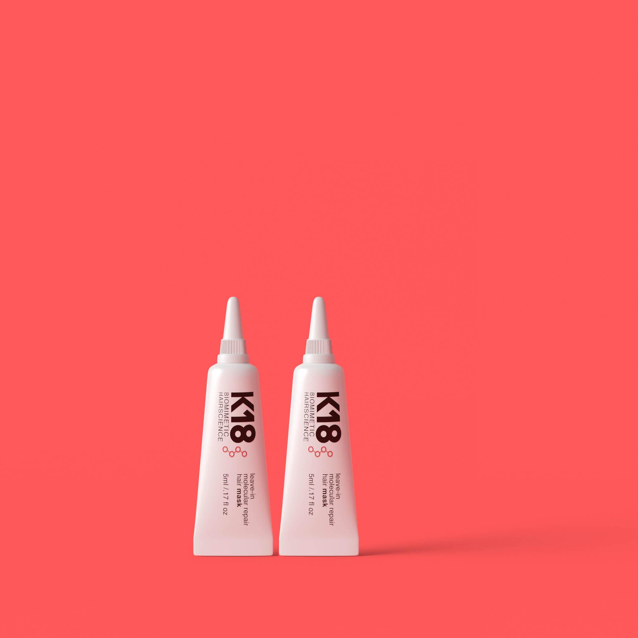 K18 Leave-in Molecular Repair Hair MASK 2 x 5ml DUO DEAL