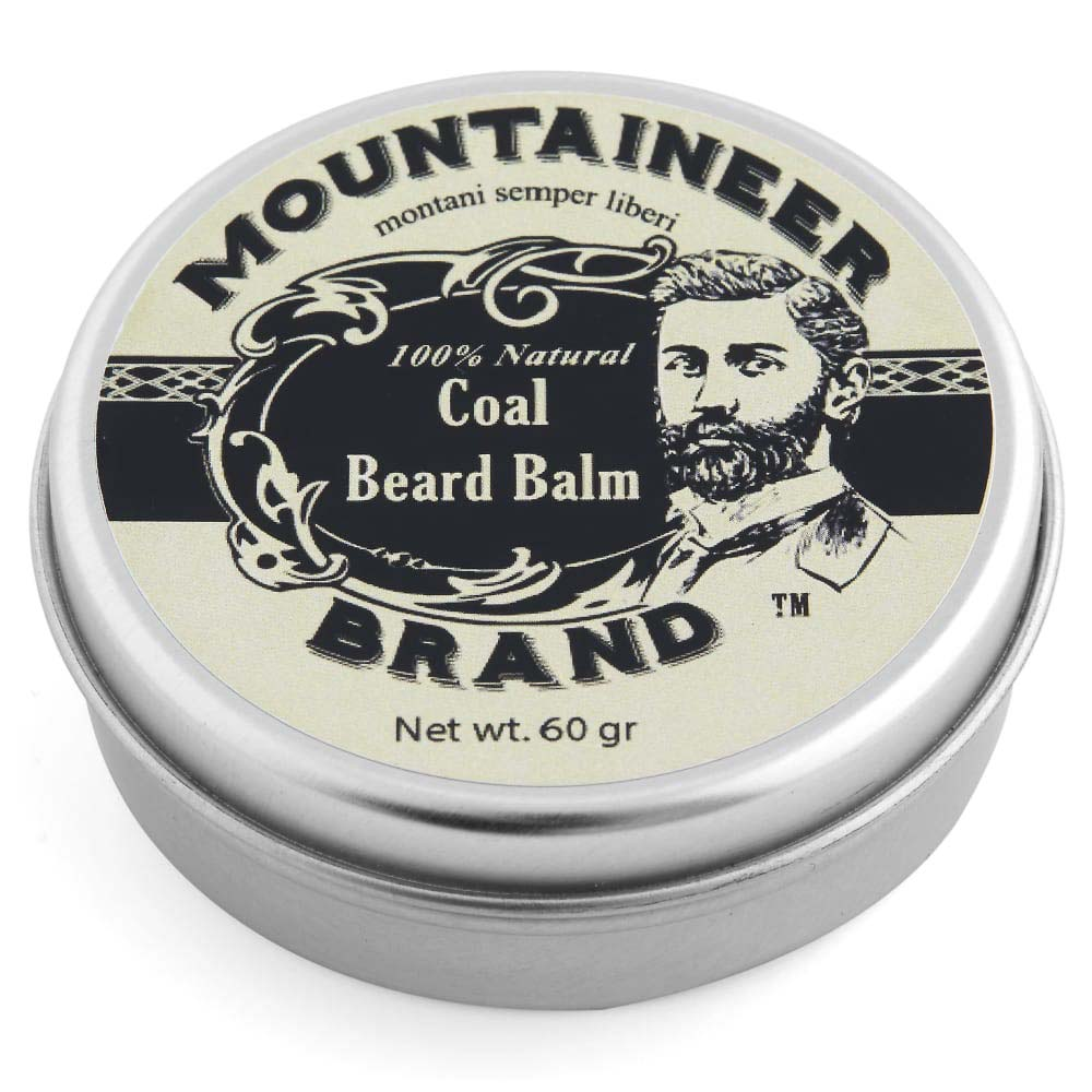 Mountaineer Brand Coal Beard Balm 60g