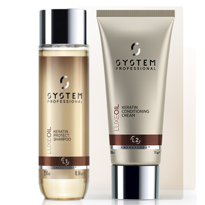 SYSTEM Luxeoil Keratin Shampoo + Conditioner DUO