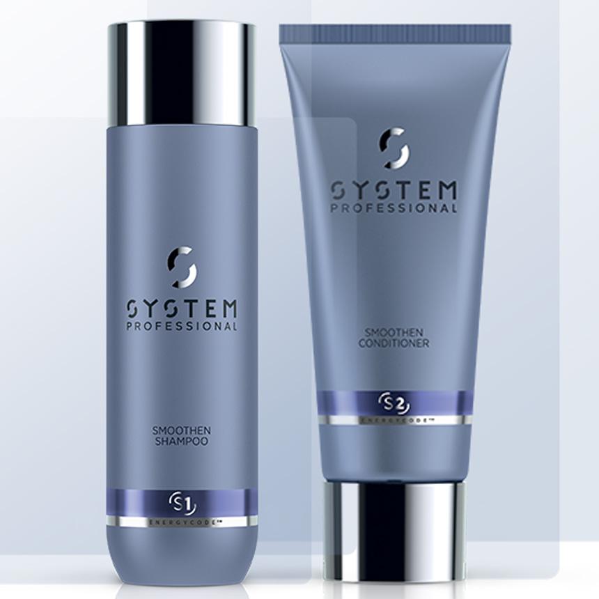 SYSTEM Smoothen Shampoo + Conditioner Duo
