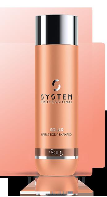 SYSTEM Solar Hair & Body Shampoo 250ml