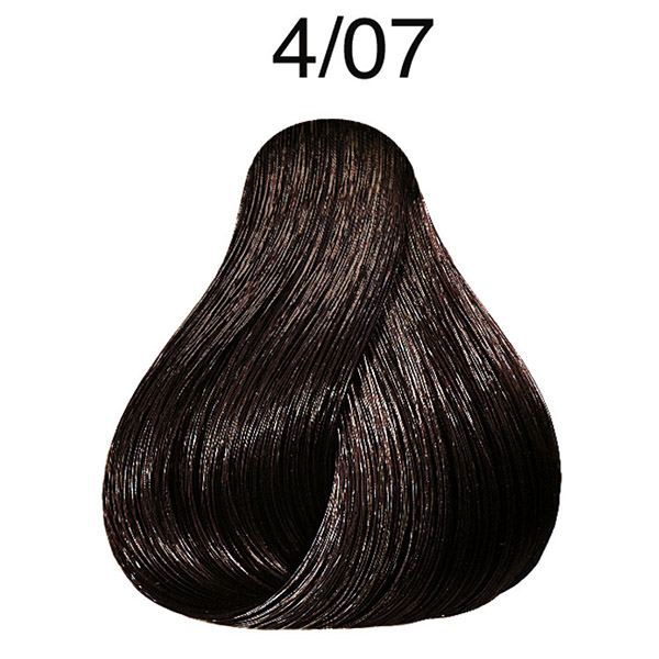 Wella Color Fresh pH 6.5 4/07 Medium Natural Brunette Brown