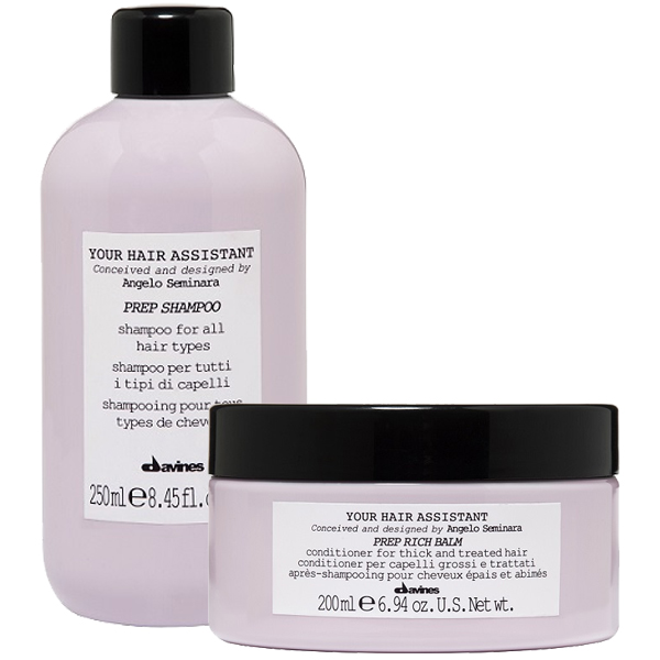 Davines Your Hair Assistant Schampo+Balsam DUO - Hairsale.se