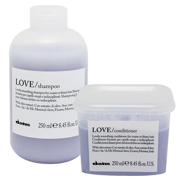 Davines Essential LOVE Smoothing Shampoo + Conditioner DUO