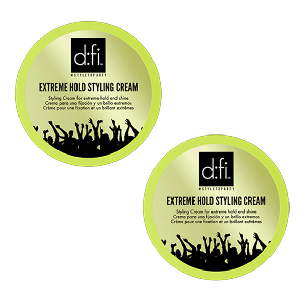 D:fi Extreme Hold Styling Cream 2x75g