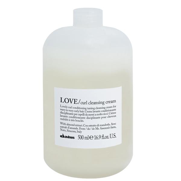 Davines Essential LOVE Curl Cleansing Cream 500ml, för lockigt hår