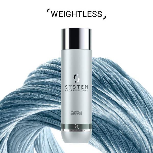Wella System Professional Volumize Shampoo 1L